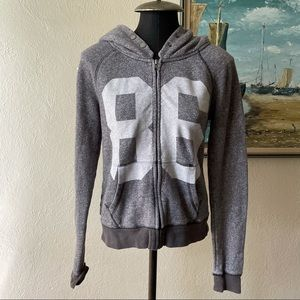 Victoria's Secret grey heathered hoodie size small